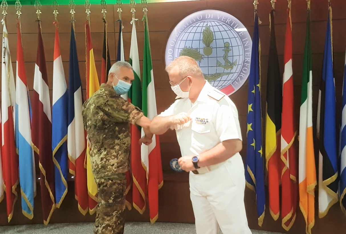 EUNAVFOR MED has a new Chief of Staff