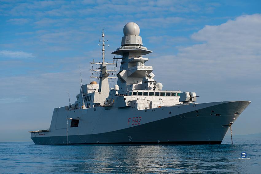 Operation Irini: anti-Covid measures onboard ITS Margottini