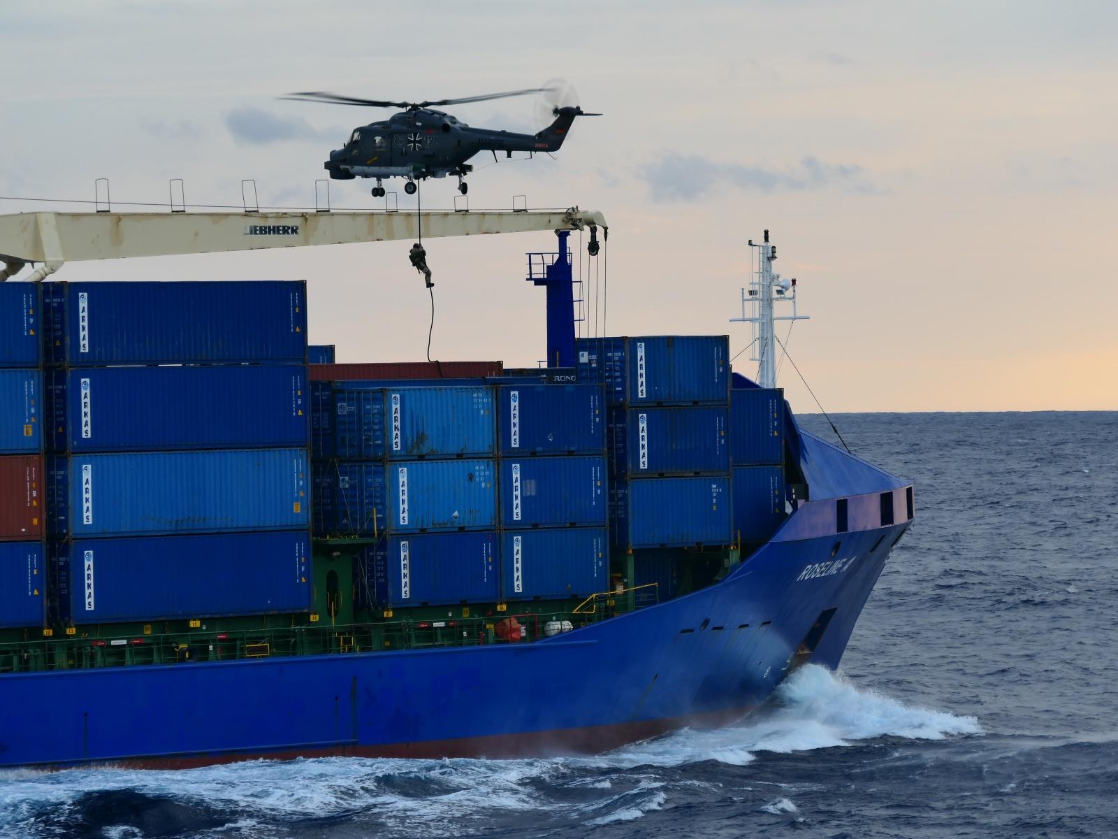 Libya: Operation IRINI inspected a Turkish-flagged vessel