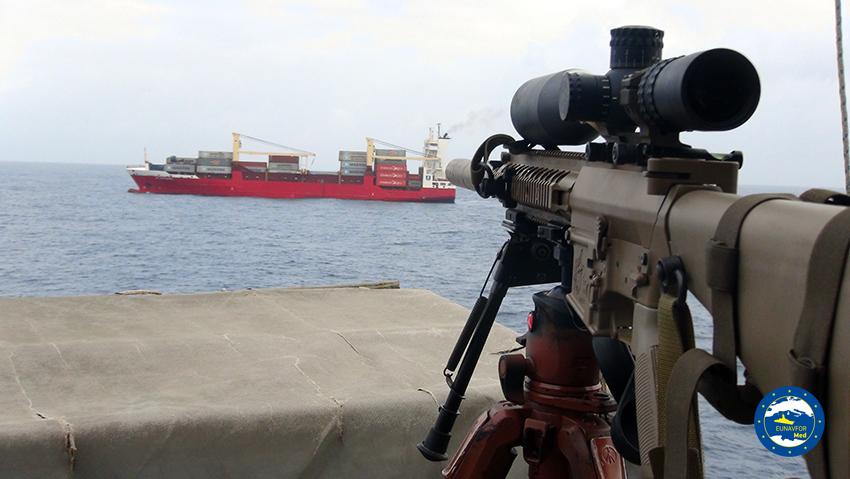 Operation IRINI inspected an Antigua and Barbuda-flagged vessel