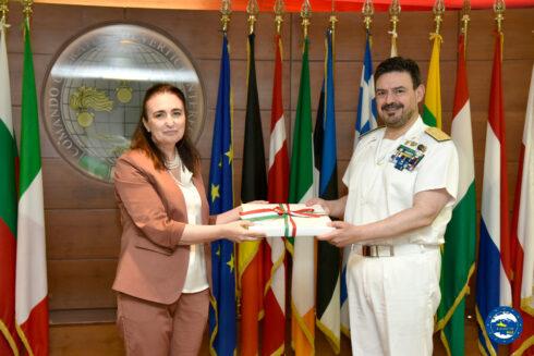 The Honourable Gianna Gancia, Member of European Parliament, visited Irini's Headquarters