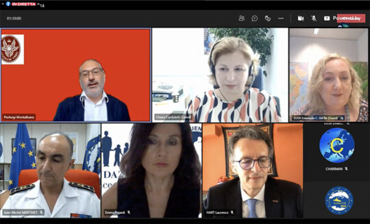 """Road to Shade Med 2021, webinar on """"Migration and illicit trafficking in the Mediterranean"""""""