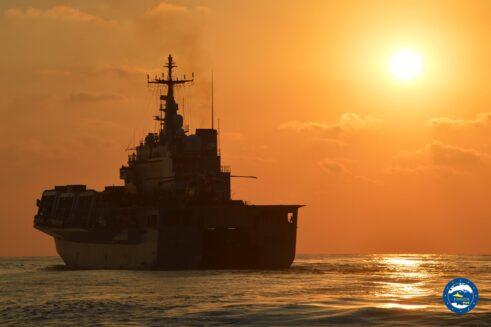 Operation EUNAVFOR MED IRINI: new flagship from the Italian Navy